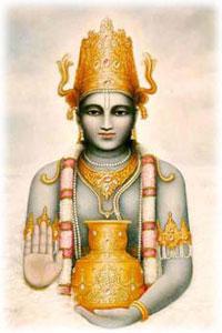 Dhanvantari, o protetor dos médicos na mitologia hindu