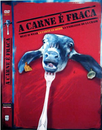 Capa do DVD A Carne é Fraca (2004)