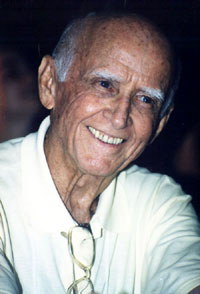 Professor Hermógenes (1921-2015) em 1999