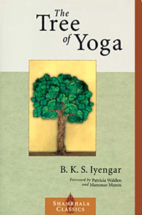 capa do livro The Tree of Yoga, de B.K.S. Iyengar