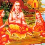 Sri Shankara (788-820 d.C.) e discípulos