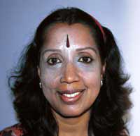 Uma Krishnamurthy Goswami em foto por Fátima Afonso