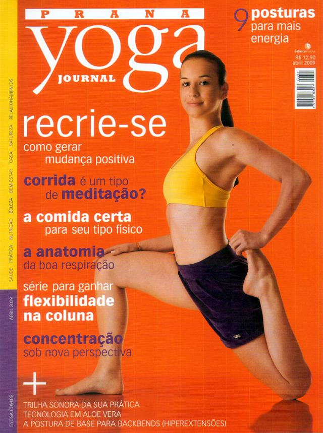 Revista Prana Yoga Journal nº 27, de abril de 2009