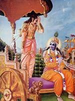 Arjuna e Krishna