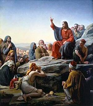 Jesus pregando o Evangelho