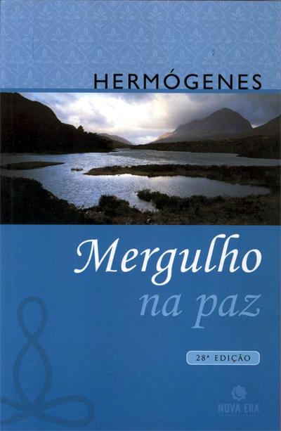 capa do livro Mergulho na Paz (1970), do Professor Hermógenes (1921-2015)