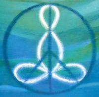 Antiga capa do livro Mergulho na Paz