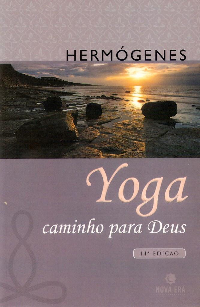 Capa do livro Yoga, Caminho para Deus (1984, 2005), de José Hermógenes (1921-2015)