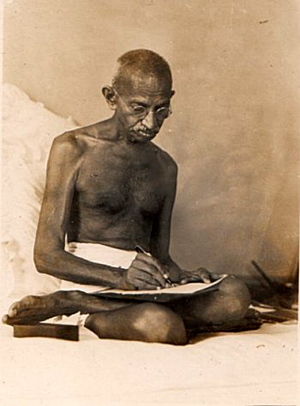 Mohandas Karamchand (Mahatma) Gandhi (1869 - 1948)