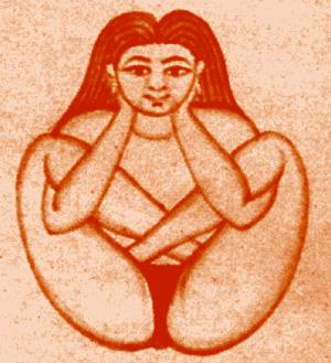 Garbha pindasana, a postura do embrião no útero