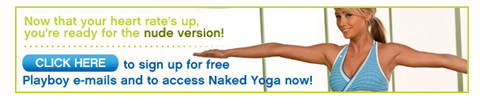 Playboy Naked Yoga