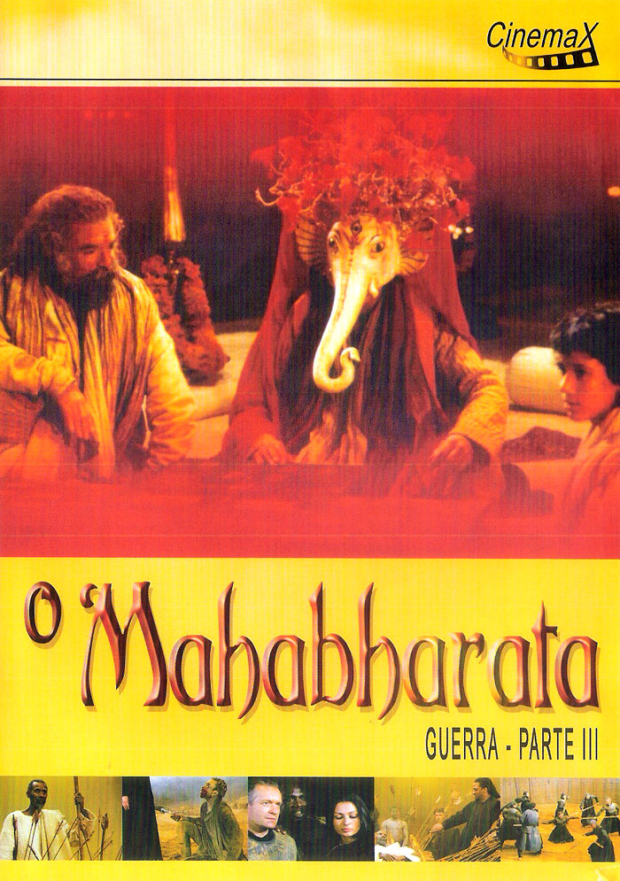 Capa do segundo DVD do filme O Mahabharata (1989), de Peter Brook
