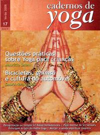 Volume 17, do Verão de 2008, dos Cadernos de Yoga