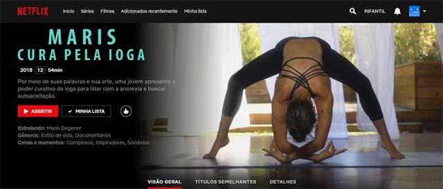Maris: Cura pela Ioga (2018), filme documentário disponível na Netflix