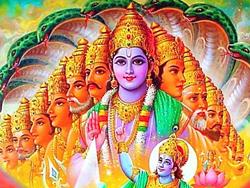 Visão da forma cósmica no capítulo 11 da Bhagavad Gita