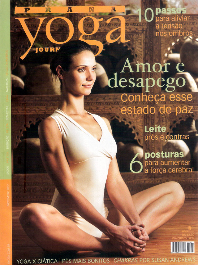 Revista Prana Yoga Journal nº 11, de novembro de 2007
