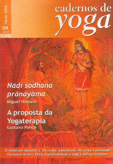 capa do Volume 09, do Verão de 2006, dos Cadernos de Yoga