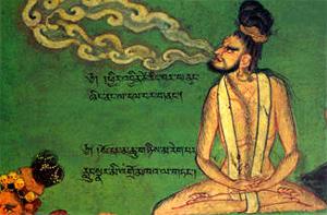 um yogi tibetano