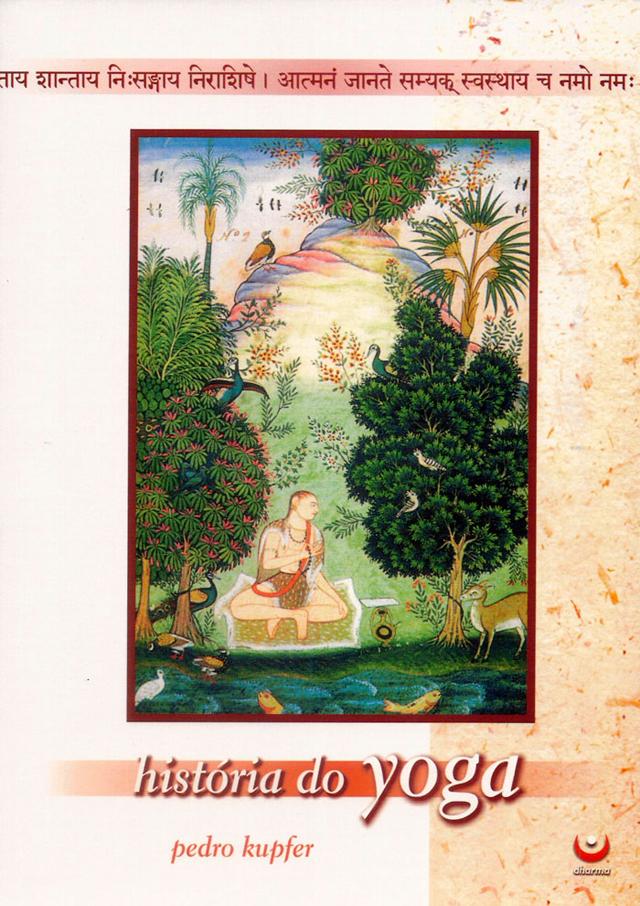 capa do livro História do Yoga, de Pedro Kupfer (1966-)