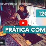 Sexta prática completa de Hatha Yoga de Pedro Kupfer.