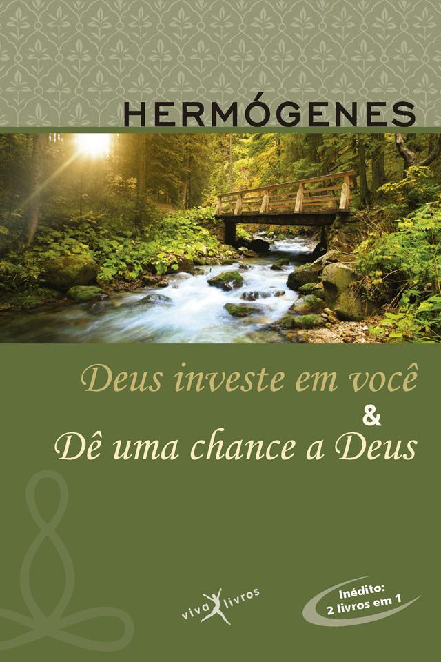 capa do livro Deus investe em você (1985), do Professor Hermógenes (1921-2015)
