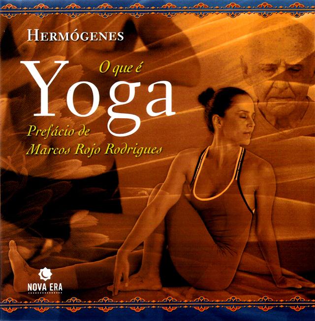 Capa da 2ª edição (2006) do livro O que é Yoga (2003), do Professor Hermógenes (1921-2015)